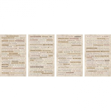 Idea-ology Tim Holtz Clippings Stickers