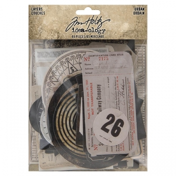 Idea-ology Tim Holtz Urban Layers
