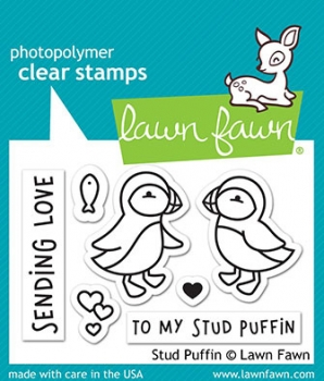 Lawn Fawn Stud Puffin Clear Stamps