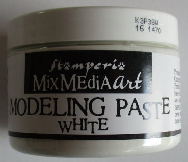 Modeling Paste, weiß, 150 ml, Mix Media Stamperia