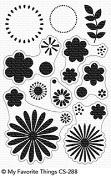 My Favorite Things Bold Blossoms Clear Stamps