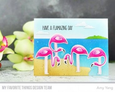 My Favorite Things Let's Flamingle Clear Stamps
