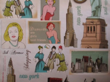 Decoupage Papier, New York Stamperia