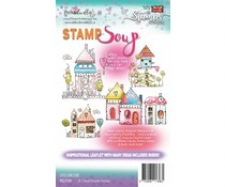 Polkadoodles Little Kingdom Stamp Soup Clear Stamps, Polkadoodles