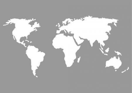 Pronty Mask stencil World Map A5
