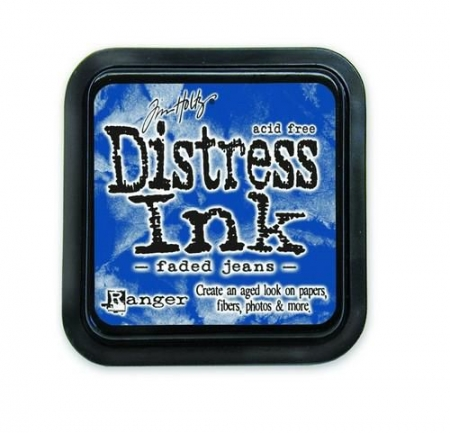 Ranger Distress Inks pad - faded jeans stamp pad  Tim Holtz