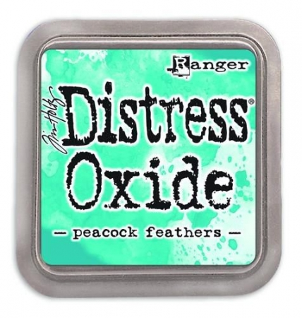 Ranger Distress Oxide - peacock feathers Tim Holtz