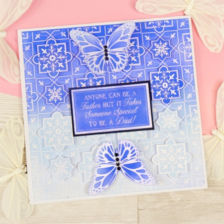 Resist & Reveal Clear Foiled Essential Book of Sentiments, Hunkydory