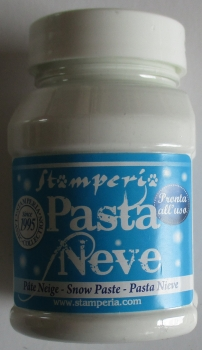 Schnee Paste, 100 ml, Stamperia
