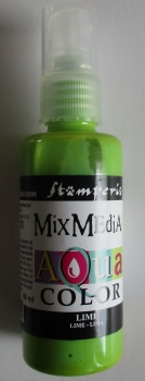 Aquacolor Spray, lime, 60 ml, Mix Media Stamperia