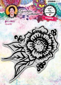 Studio Light Cling Stamp Painterly Flower Art By Marlene 3.0 nr.32
