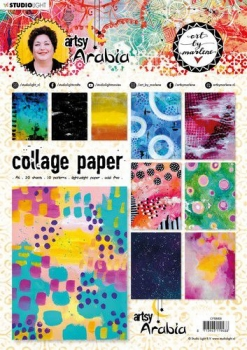 Studiolight,  Art By Marlene Collage Paper Artsy Arabia, nr.08