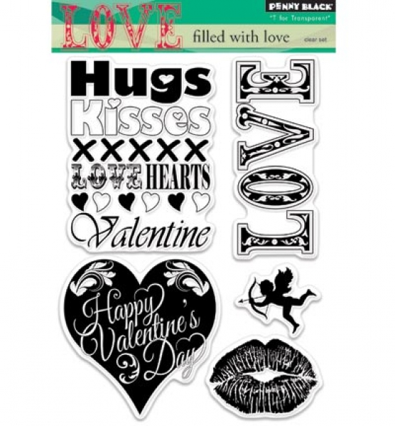 Stempel All About Love, Penny Black