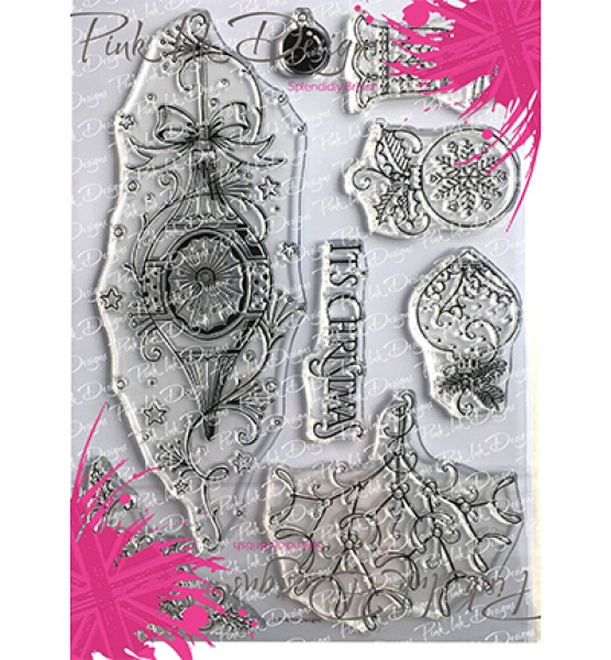 Pink Ink Designs, Baubles, Christmas Series