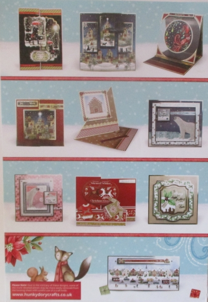 Seasonal Style Luxury Card Collection, Hunkydory