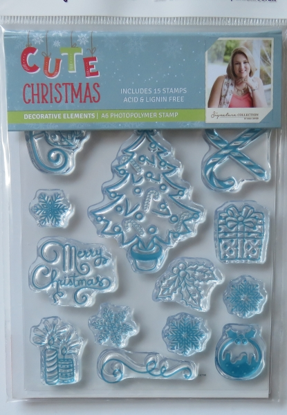 Cute Christmas, Decorative Elements, Crafters Companion