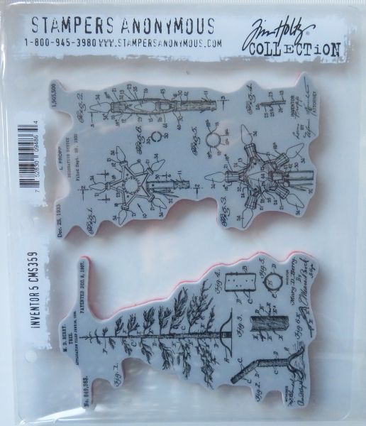 Tim Holtz Collection Stempelset Investor 5 , Stampers Anonymus