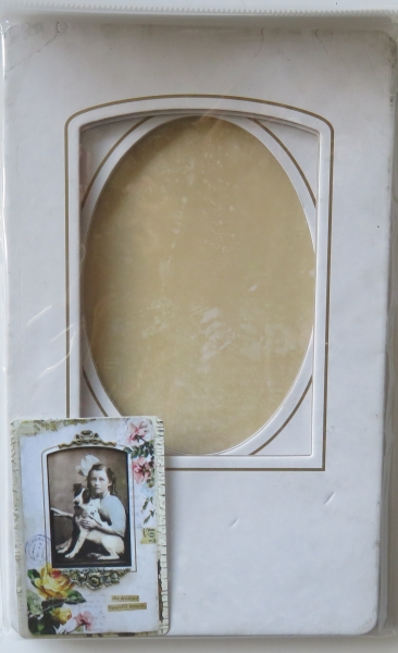 Collage Frames, Vintage styled Bookboard, Tim Holtz