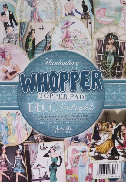 Whopper Topper Pad, Deco Delight, Hunkydory