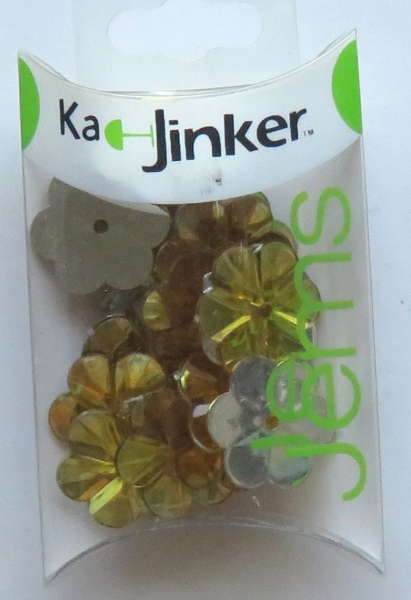 Ka-JinkerJems, Blüte, gold, Blumenthal Craft