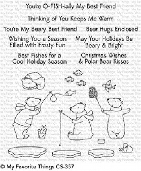 My Favorite Things Beary Best Friends Clear Stamps