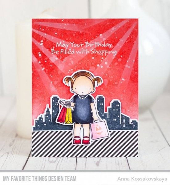 My Favorite Things Pure Innocence Birthday Girl Clear Stamps