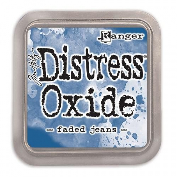 Ranger Distress Oxide - faded jeans Tim Holtz
