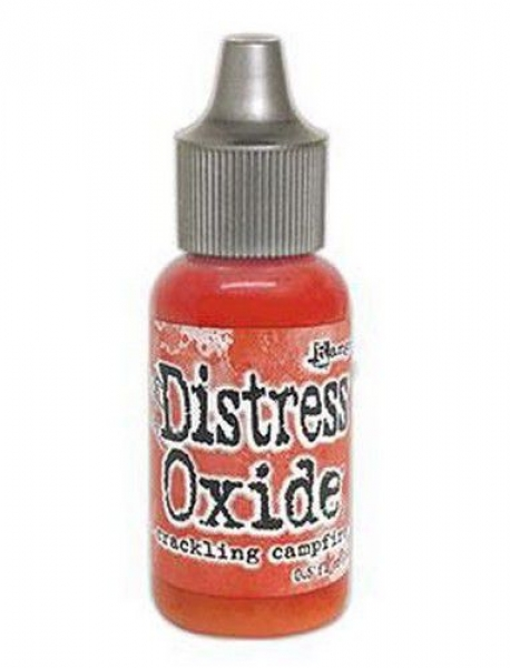 Ranger Distress Oxide Re-Inker 14 ml - Crackling Campfire ,Tim Holtz