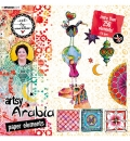 Studio Light Art By Marlene Die Cut Block Artsy Arabia, nr.02