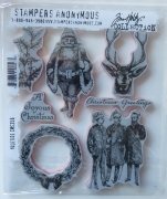 Tim Holtz Collection Stempelset Yuletide, Stampers Anonymus