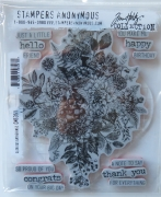 Tim Holtz Collection Stempelset Glorious Gatherings , Stampers Anonymus