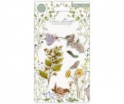 Craft Consortium Wildflower Meadow Clear Stamps Wild Flowers , Craft Consortium