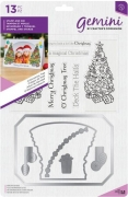 Gemini Photo Frame Stamp and Die - O' Christmas Tree, Crafters Companion